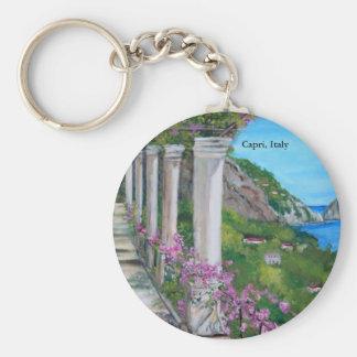 Capri, Italy Keychain