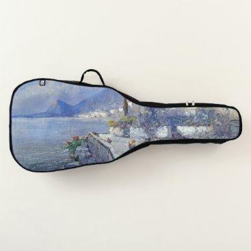 Beach Themed Capri Italy Ocean Coast Floral Guitar Bag Case