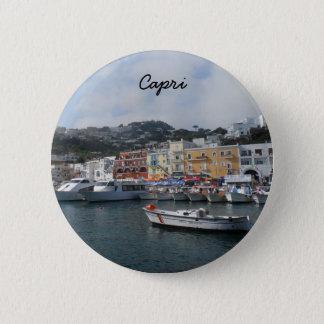 Capri, Italy Pinback Button