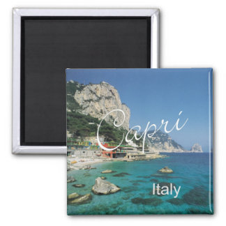 Capri Italy Travel Photo Souvenir Fridge Magnet