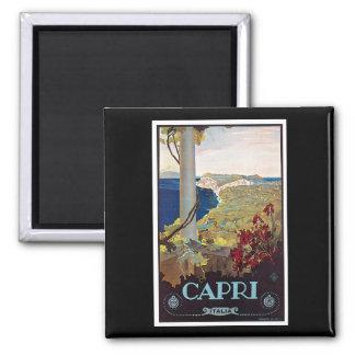 Capri, Italy Vintage Travel Poster Magnet