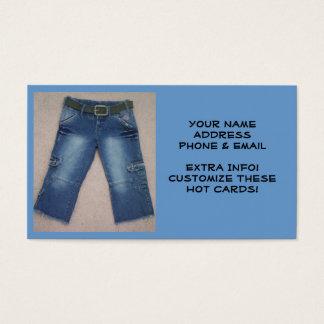 Capri Jeans Business Cards