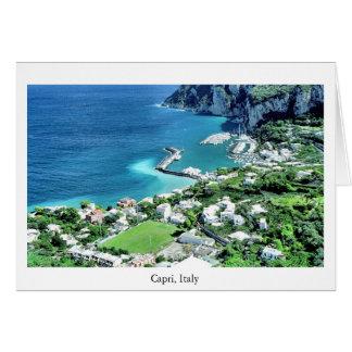 Capri Marina Greeting Card