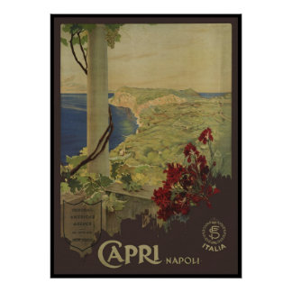 Capri Napoli Poster