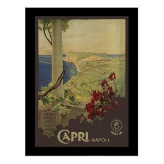 Capri Napoli Postcard