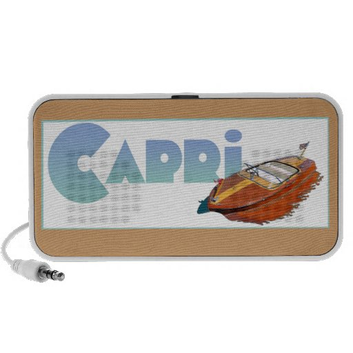 Capri Powerboat iPhone Speaker
