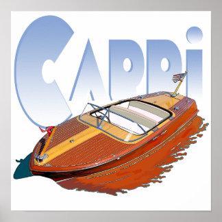 Capri Powerboat Posters
