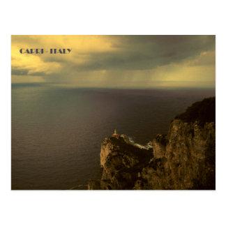 Capri - Punta Carena Lighthouse Postcard