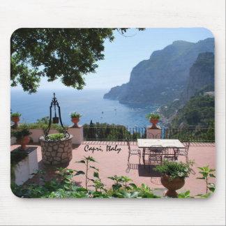 "Capri scenery ""topo"" pad mouse pad"
