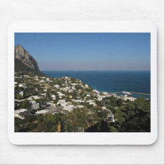 Capri view of Marina Grande Mouse Pad