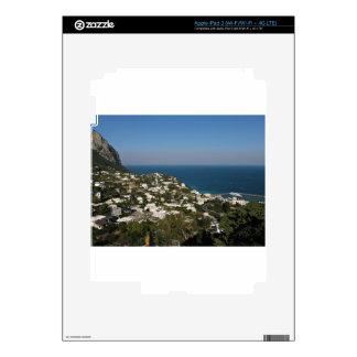 Capri view of Marina Grande iPad 3 Decals