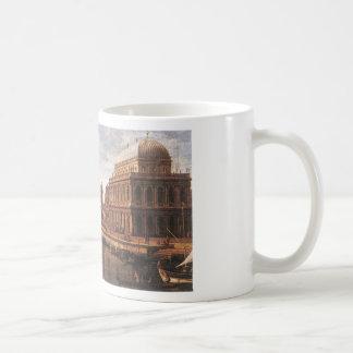 Capriccio: a Palladian Design for the Rialto Classic White Coffee Mug
