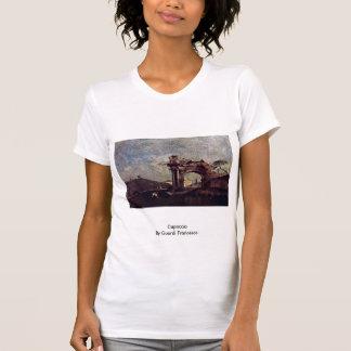 Capriccio By Guardi Francesco T Shirts