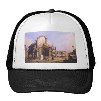 Capriccio of a Round Church with an Elaborate Trucker Hat