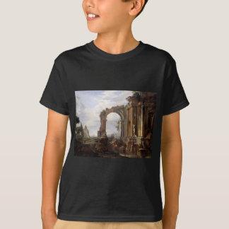 Capriccio of Classical Ruins Giovanni Paolo Panini T-Shirt