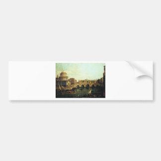 Capriccio of the Grand Canal With an Imaginary Bumper Sticker