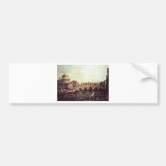 Capriccio: The Grand Canal, with an Imaginary Bumper Sticker
