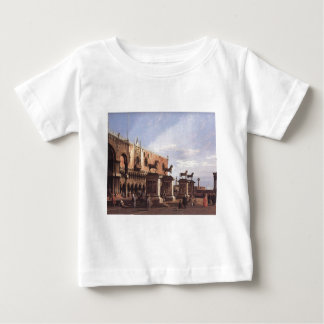 Capriccio: The Horses of San Marco in the Piazzett Baby T-Shirt