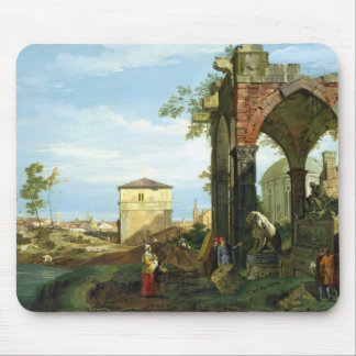 Capriccio with Motifs from Padua, c.1756 Mouse Pad