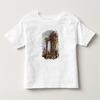Capriccio with Roman Ruins, a Pyramid and Toddler T-shirt