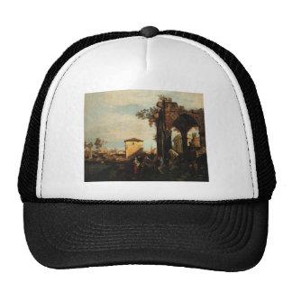 Capriccio with Ruins and Porta Portello in Padua Trucker Hat