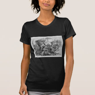 Caprice decoration, a group of ruins inhabited T-Shirt