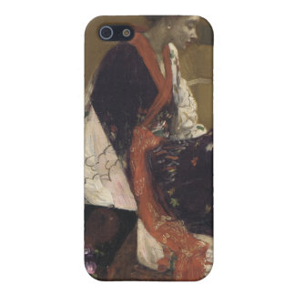 Caprice in Purple and Gold - James Whistler Case For iPhone SE/5/5s