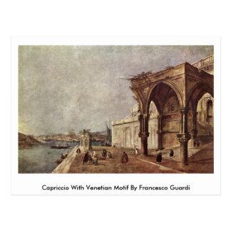 Capricho con el adorno veneciano de Francesco Postal