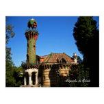 Capricho de Gaudi.Comillas, Postcard