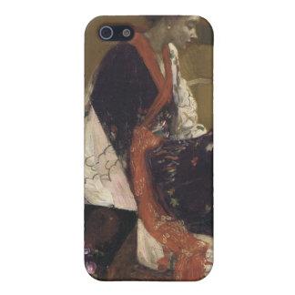 Capricho en la púrpura y el oro - marmota de James iPhone 5 Cárcasa