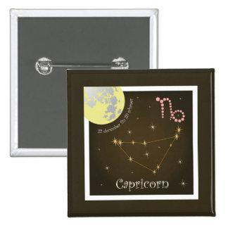 Capricorn 22 more december fin 20 of schaner pinback button