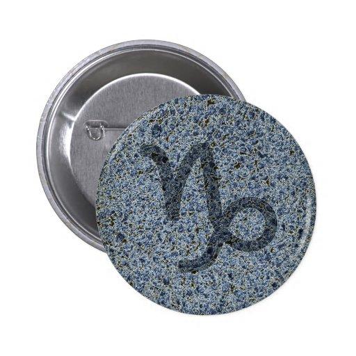 capricorn 2 inch round button