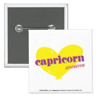 Capricorn 3 pinback button