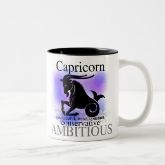Capricorn About You Two-Tone Coffee Mug