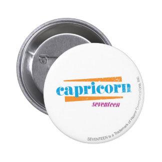 Capricorn Aqua Button