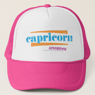 Capricorn Aqua Trucker Hat