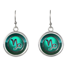 Capricorn Astrological Sign Earrings