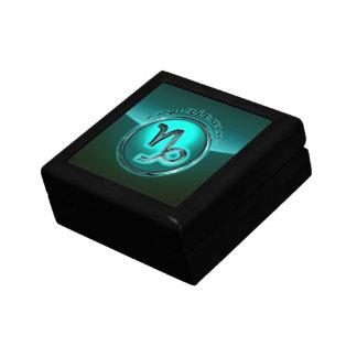 Capricorn Astrological Sign Jewelry Box