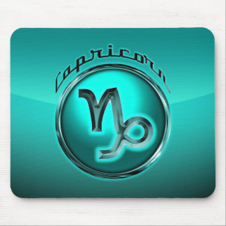 Capricorn Astrological Sign Mouse Pad