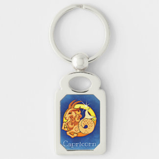 Capricorn Astrological Zodiac Sign Keychain