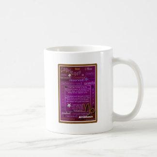 CAPRICORN BIRTHDAY COFFEE MUG