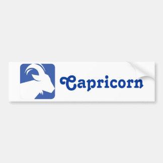 Capricorn Car Bumper Sticker