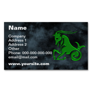 Capricorn Business Card Magnet
