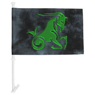 Capricorn Car Flag