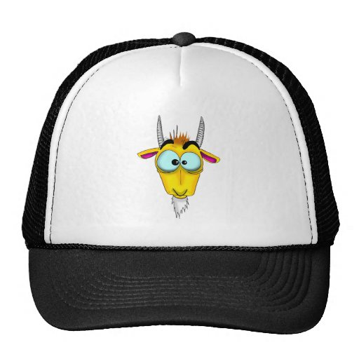 Capricorn Cartoon Trucker Hat