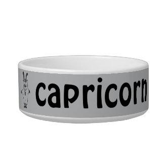 Capricorn Cat Bowl