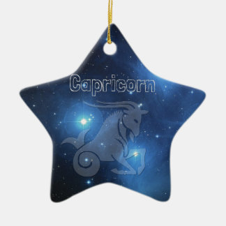 Capricorn Ceramic Ornament