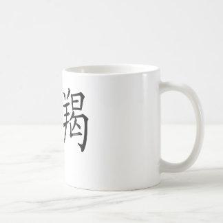 Capricorn Chinese Symbol Classic White Coffee Mug