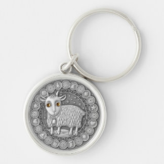 Capricorn Coin key chain