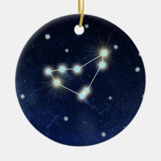 Capricorn Constellation | Custom Name Ceramic Ornament